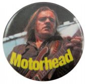 Motorhead - 'Lemmy Stage' Button Badge